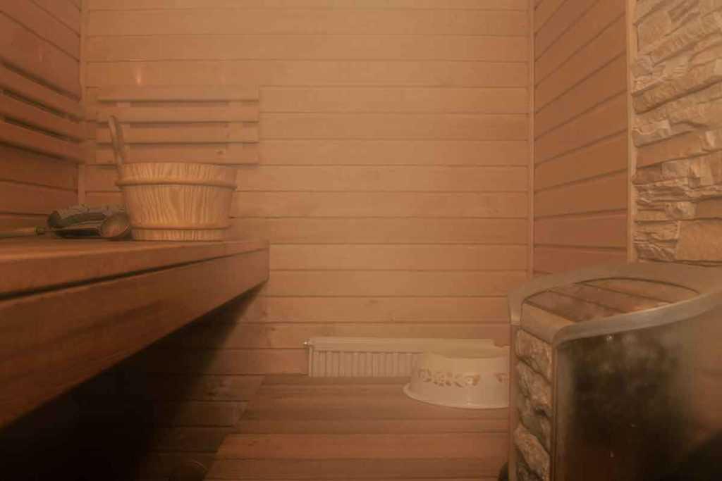 Wellness Anti-Aging Saunaofen Erholung